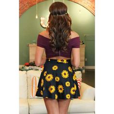 Urban Outlet Inc.: Sunflower Passion Skirt - Urban Outlet Inc.