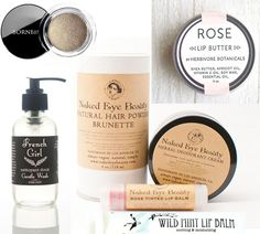 INDY ORGANIC BEAUTY PRODUCTS: 7 ETSY SHOPS FOR NATURAL MAKEUP & BODY CARE