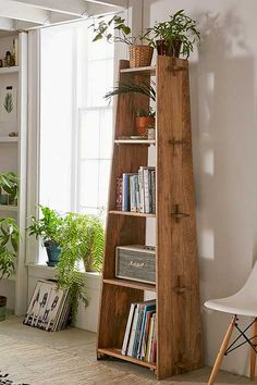 Riley Wooden Bookshelf - Urban Outfitters