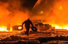 самые впечатляющие фото революции в Киеве  #euromaidan #maidan #евромайдан