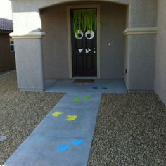 Monster party door entrance!