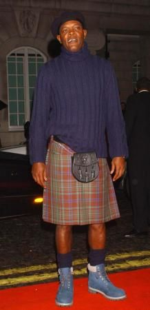 Samuel L. Jackson in a kilt. Shut yo' mouth.