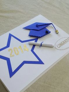 Handmade2014 Graduation card Grad Card by CraftAndGift on Etsy, $8.50