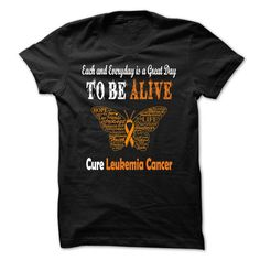 Cure Leukemia Cancer T Shirts, Hoodies. Check price ==►…