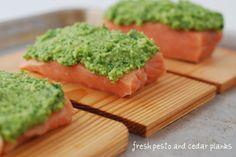 Entertaining Alkaline Style – Lemon Pesto Salmon, Cashew Ceasar, Broccolini Chop | The Alkaline Sisters