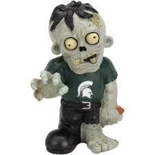Michigan State Zombie Figurines