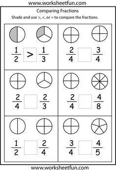 math worksheet : comparing fractions with the same denominator www brainrush   : Mm Fractions Worksheet