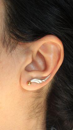 New Handmade Orange Amber /& Solid 925 Silver Pair of Earrings 2.7cm long