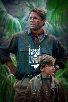 J'en ai rien affiche - Jurassic Park
