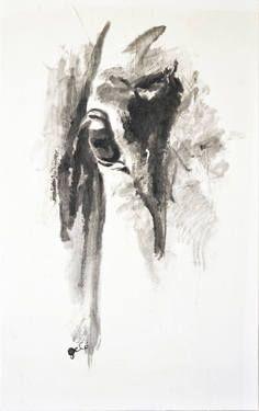 """Saatchi Art Artist Benedicte Gele; Painting, """"Look 41"""" #art"""