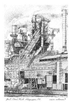J Steel Mill Aliquippa PA