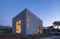 Manhwaricano House, maison singulière en Corée du Sud par Rieuldorang Atelier - Journal du Design