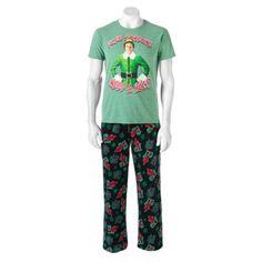 Elf 2-piece Sleep Set - Men $24.99