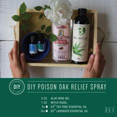 For when the road less traveled leads you to poison oak. Here's a recipe for an easy-to-make DIY poison oak relief spray!