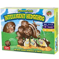 Intelligent Hedgehog Board Game Brain Teaser Puzzle Family Games Puzzles For Children Adults Antistress Game English Kids Toys