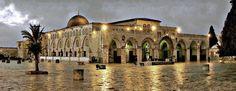 A Beautiful Shot of Al-Aqsa Mosque | مسجد الأقصى
