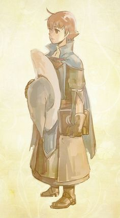 Ricken, Fire Emblem Awakening , I don't know why I like him so much. He's just... so adorable