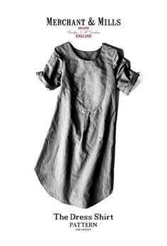 The Dress Shirt  Sewing Pattern | Merchant & Mills