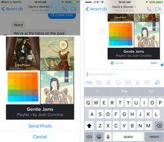 Facebook Messenger dopo Uber e Giphy integra anche Spotify, concedendo al possibilità di scambiarsi suggerimenti di canzoni e artsti, senza lasciare la chat