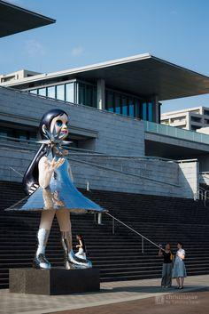 Hyogo Prefectural Museum of Art (兵庫県立美術館). / Architect : Tadao Ando (設計:安藤忠雄).