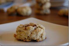Savory oatmeal cookies.