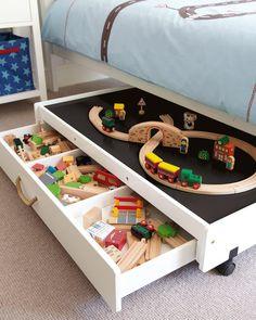 idée diy chambre enfant circuit