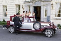 Modern wedding car hire louth for the very best in vintage wedding cars kildare cavan westmeath wedding limousines akp chauffeur drive Bridal Car, Wedding Car Hire, Mercedes E Class, Party Bus, Limo, Antique Cars, Suit, Dublin Ireland, Buses