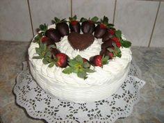 Tvarohovo-jogurtova torta - fotopostup. - foto postup