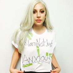 Pin for Later: Lady Gaga Has Never Gotten This Real About Depression and Anxiety
