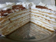 Hellena ...din bucataria mea...: Tort Milchmadchen Peach Yogurt Cake, Vanilla Cake, Food And Drink, Cookies, Ethnic Recipes, Desserts, Pastries, Drinks, Kitchens