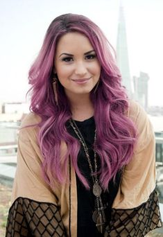 30 Purple ombre & balayage hair color ideas 2018