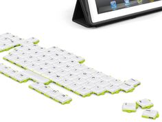 Keyboard design allows users to arrange keys in whatever way they see fit. This means that keys can be left out, put in alphabetical order, or even turned into a different shape.