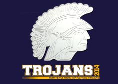 This is the blue and gold logo for the NEH Trojans, home of Tammy Massman's fabulous third graders.