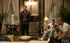 "Lucious Lyon's house on ""Empire"" 