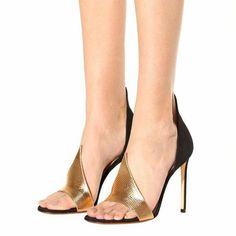 b590c38a900  121.89 Dresswe.com SUPPLIES Stilettos Open Toe Slip-On Heel Covering  Low-Cut Uppers