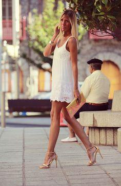 style lover abercrombie white dress XIV