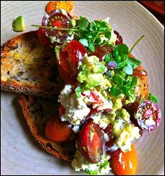 Seven Seeds Avo & Fetta on Toast Interior Design Boards, Bruschetta, I Foods, Seeds, Good Food, Toast, Presentation, Google Search, Breakfast