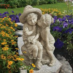 Kissing Kids Boy and Girl Statue Design Toscano,http://www.amazon.com/dp/B00K0LACTS/ref=cm_sw_r_pi_dp_OHrEtb1JEF39QSS3
