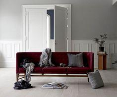 Fodera per cuscino Horizon in alpaca 40 x 60 cm grigio Scandinavian Design, Denmark, Designer, Plush, Sofa, Living Room, Interior Design, Inspiration, Furniture