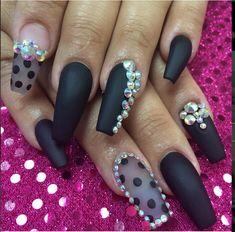 I just like the nail shape...the black isn't that bad