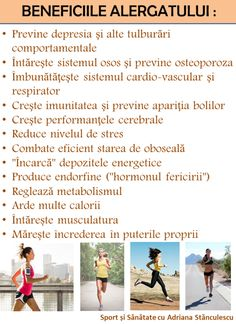 Beneficiile alergatului Slim And Fit, For Your Health, Diet And Nutrition, Metabolism, Fitness Fashion, Health Fitness, Parenting, Cardio, Workout