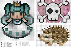 Βρες εδώ πολλά δωρεάν σχέδια για σταυροβελονιά και Perler beads!