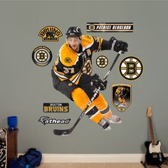 Fathead Patrice Bergeron Wall Decals