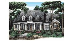 57 best Dutch Colonial Style Homes images on Pinterest   Dutch     Eplans Colonial House Plan   Inviting Design   2745 Square Feet and 3  Bedrooms from Eplans   House Plan Code