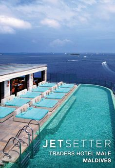 #Jetsetter Daily Moment of Zen: Traders Hotel in Malé, #Maldives
