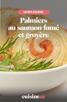Les palmiers au saumon fumé et gruyère sont des biscuit apéros parfait pour les fêtes de fin d'année.   #recette#cuisine#biscuit#apertitif #apero #noel#fete#findannee #fetesdefindannee