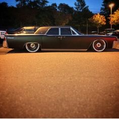 63 Lincoln Continental on Mobsteel wheels