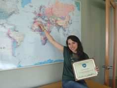 Giovanna Corredoni is going to Rome for Fall 2012 then to Madrid for Spring 2013! She won $ 250!!!