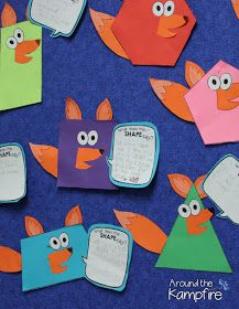Shapes writing craft- What does the SHAPE say?