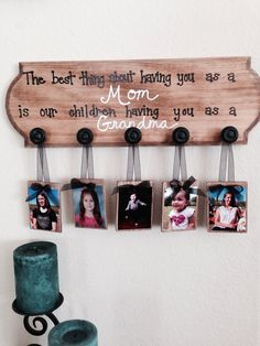 A gift for Grandma!!! An easy DIY present for mom / grandma.